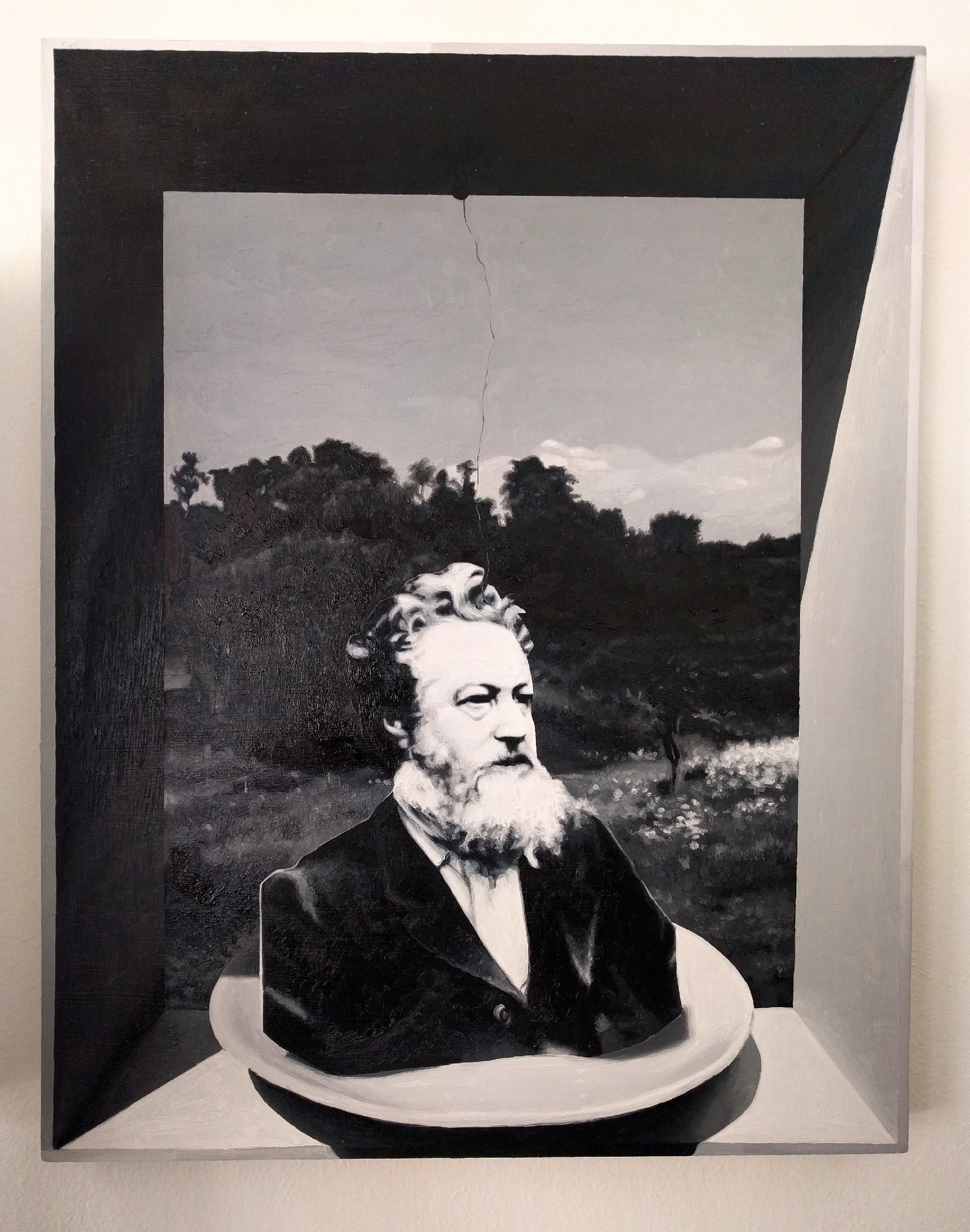 William Morris , Oil on panel, 2017