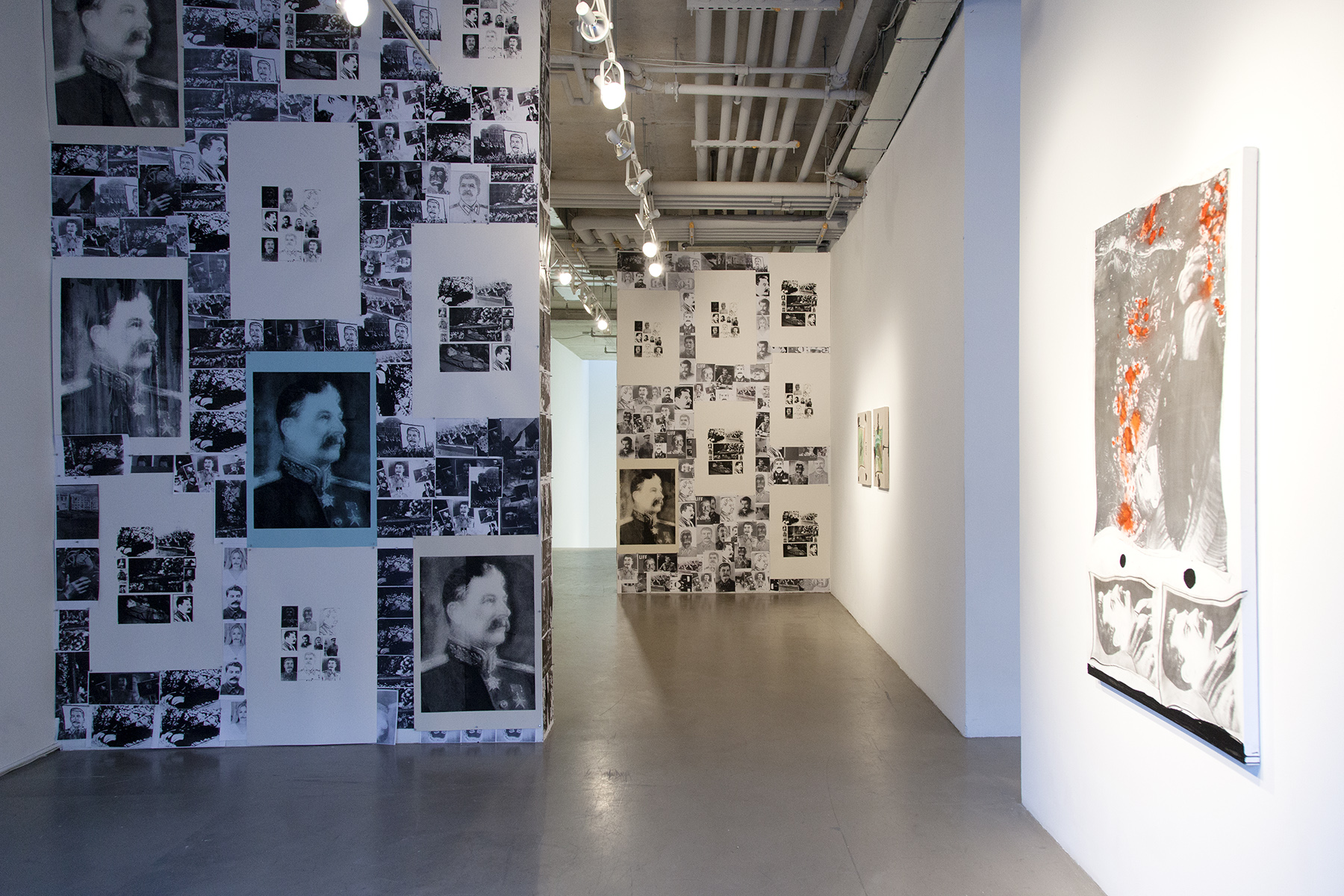 Installation View, Rachel Libeskind,  The Day The Father Died , October 30, 2017