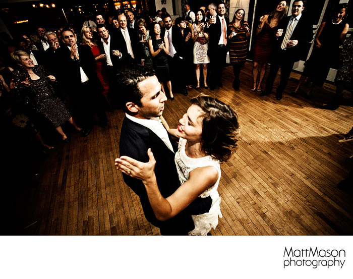 Lake Geneva Country Club Recption First Dance
