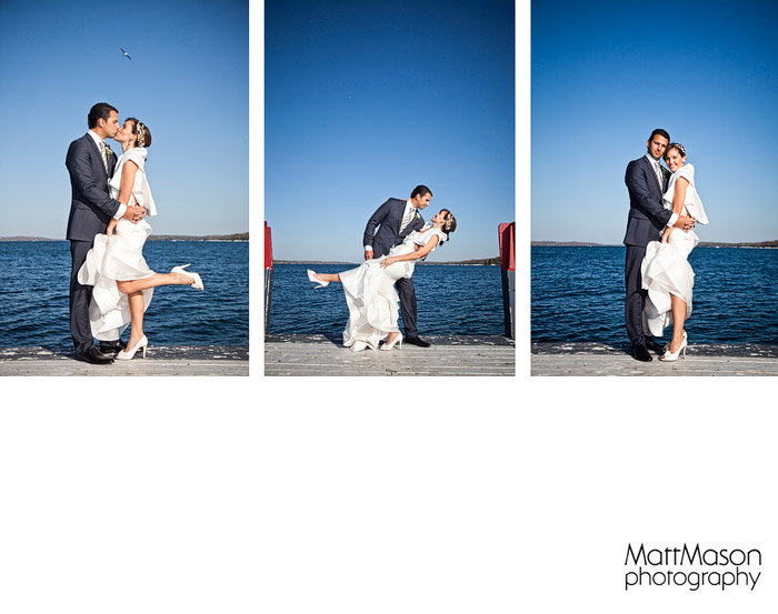 Fontana Municipal Pier Wedding Photos