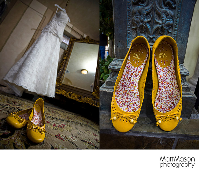 Yellow Wedding Shoes Arizona