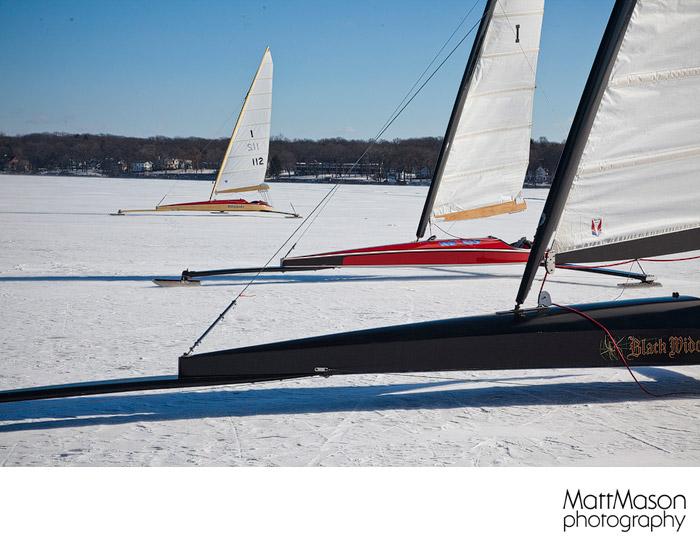 Three Ice Boats