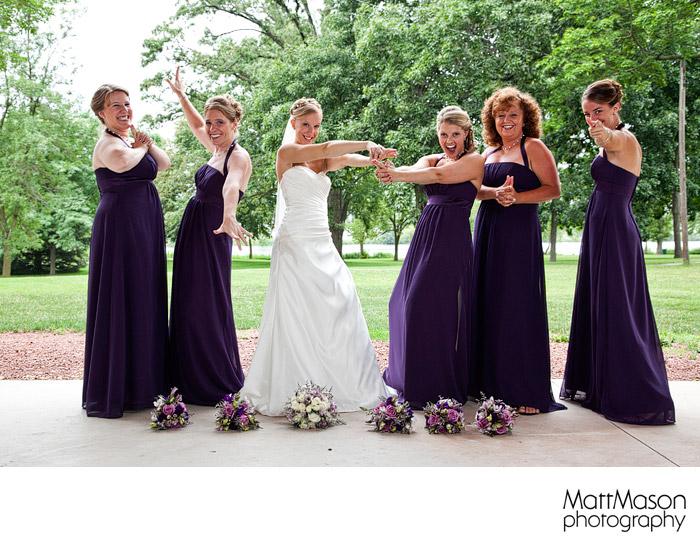 Veteran's Terrace Bridesmaids