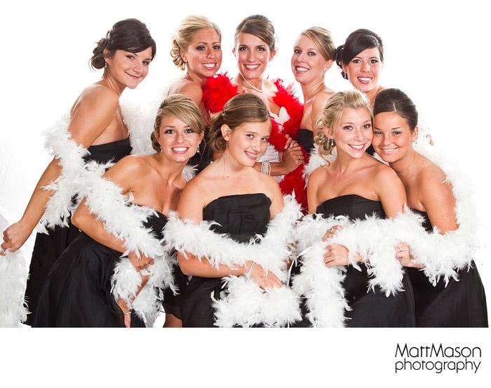 Photobooth bridesmaids
