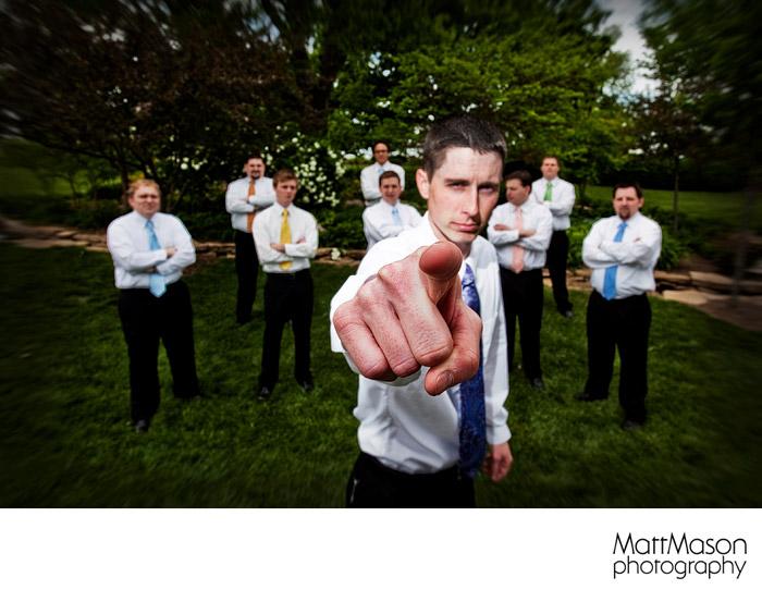 Mormon groomsmen