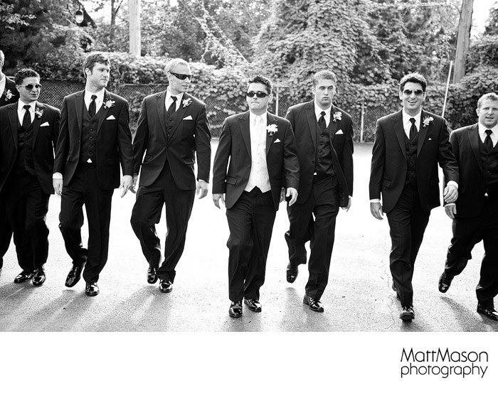 Reservoir Dogs groomsmen