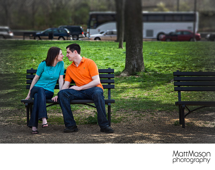 Park Bench Love
