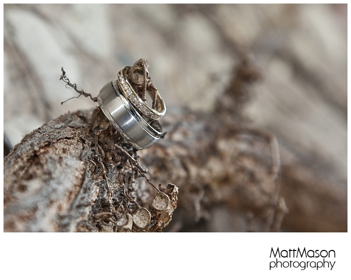 Creative Ring Shot with Vines