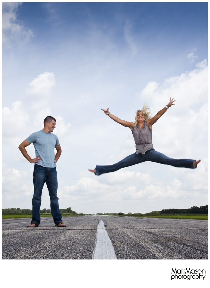 Leaping on the Tarmac