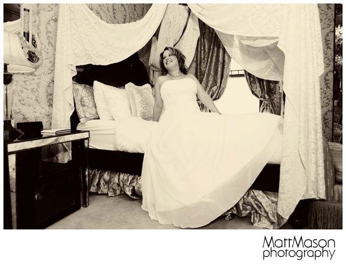 Bride at Baker House in Lake Geneva