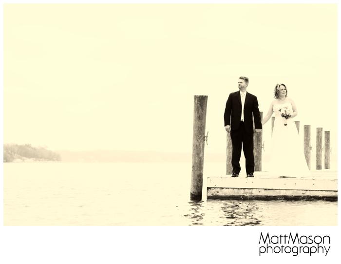 Wedding Photo on Lake Geneva