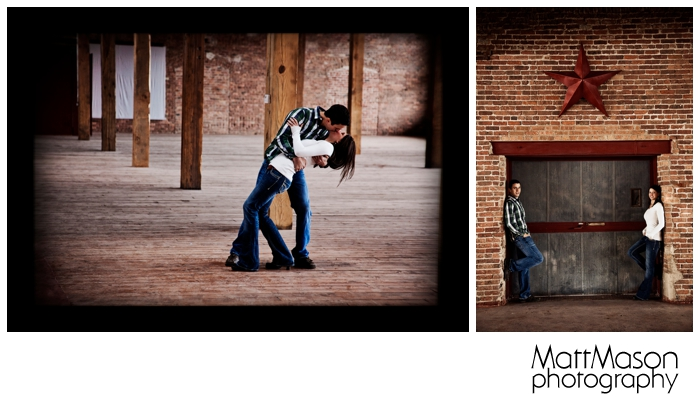 Hollywood Kiss Engagement Session