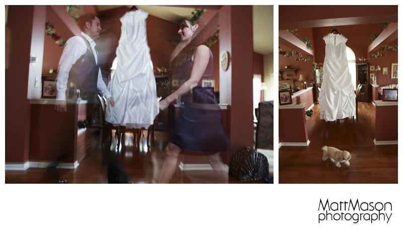 Wedding Dress with activity
