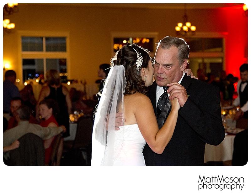 A Father's Tears, Father Daughter Dance, Matt Mason Photography