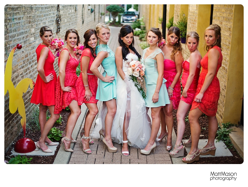 Matt Mason Photography Lake Geneva Wedding Bride Groom Bridal party4