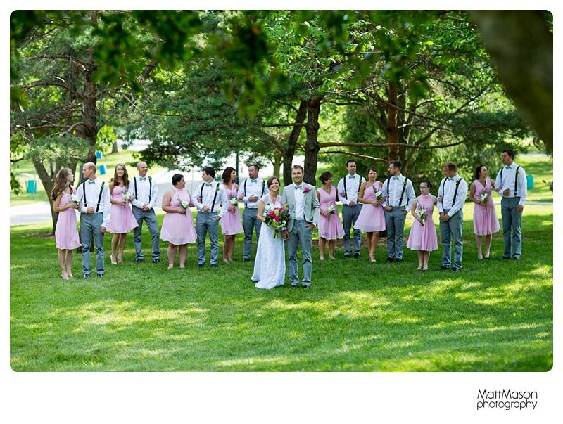 Matt Mason Photography Lake Geneva Wedding Bride Groom Bridal party8
