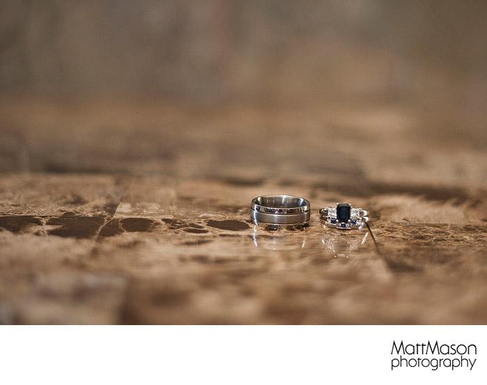 Ring shot on granite