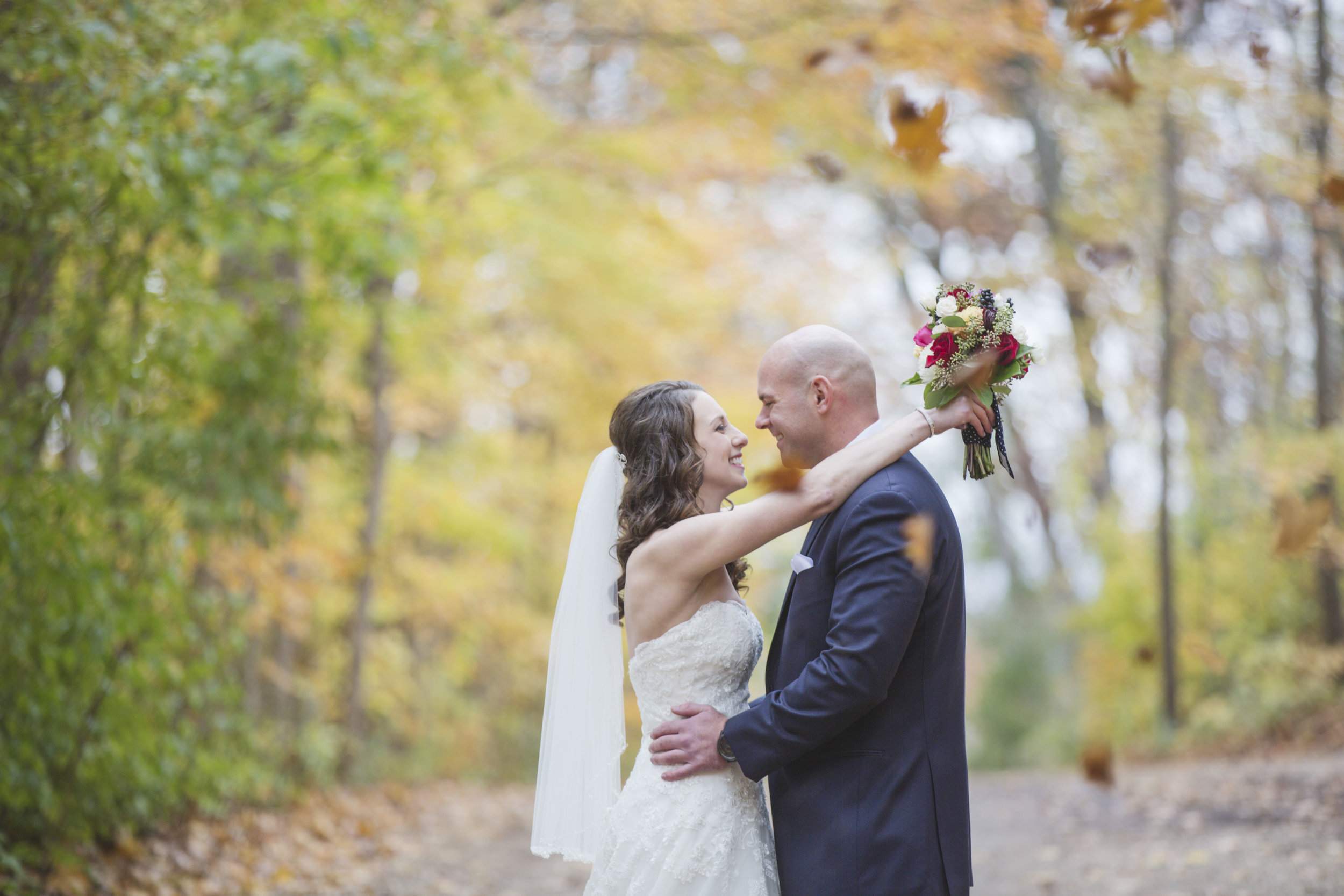 Nicole + Dan at The Ridge (October 28th, 2017)