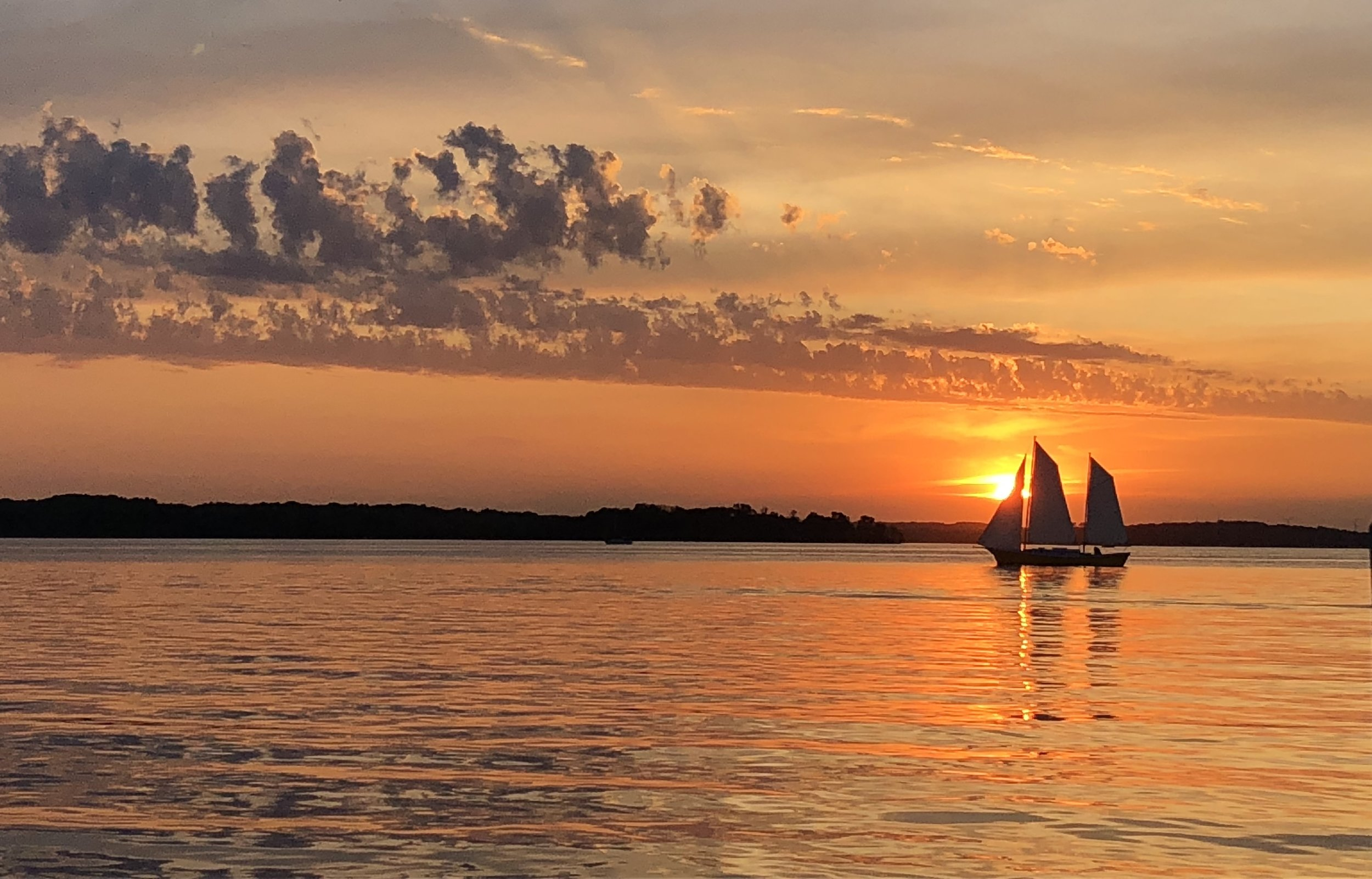 Sunset on Lake Mendota in Madison, WI