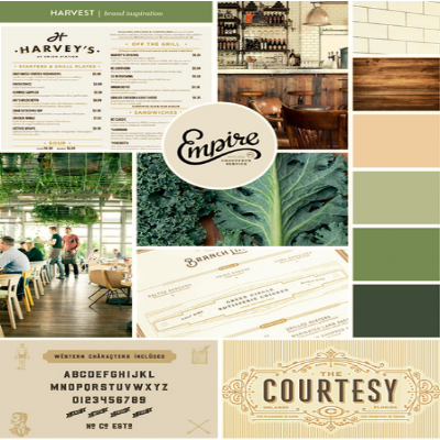 Branding    Harvest by The Patio    View Project