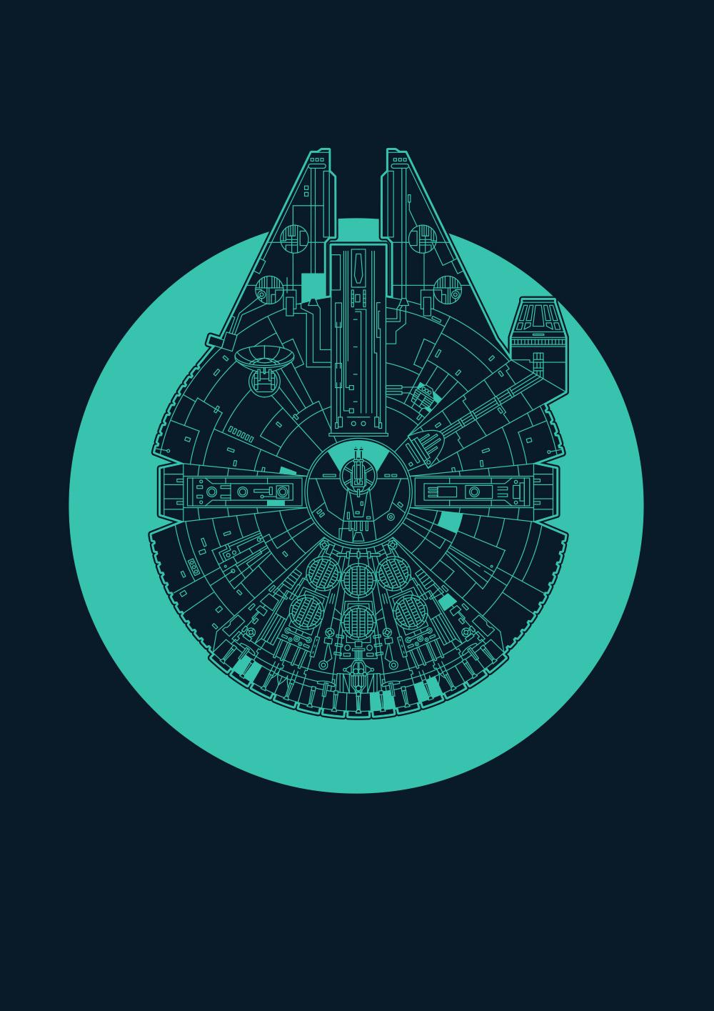 Starships: Millennium Falcon