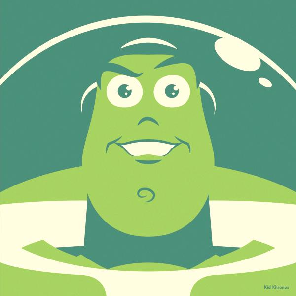 Backup: Buzz Lightyear – Toy Story