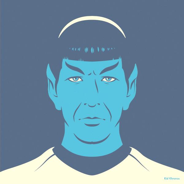 Backup: Spock – Star Trek