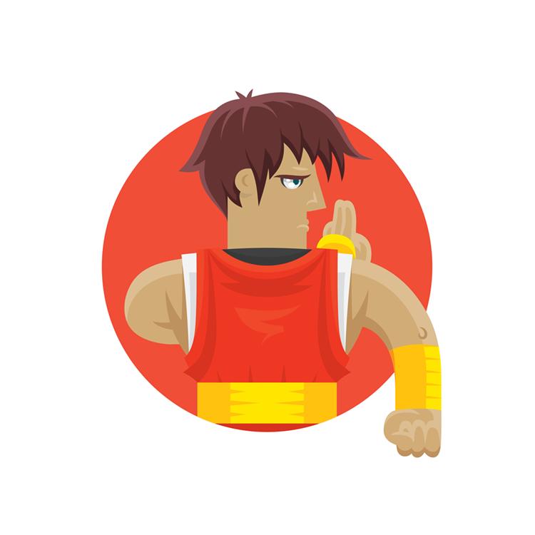 Street Fighters: Guy