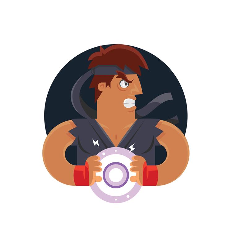 Street Fighters: Evil Ryu