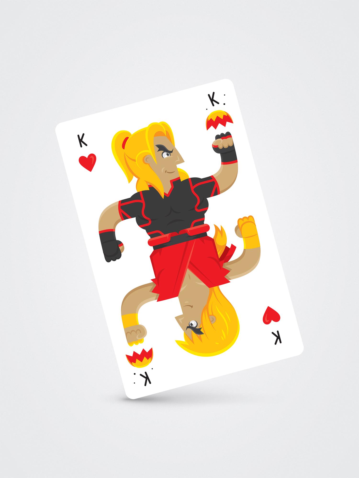 Ken Masters – King of Hearts