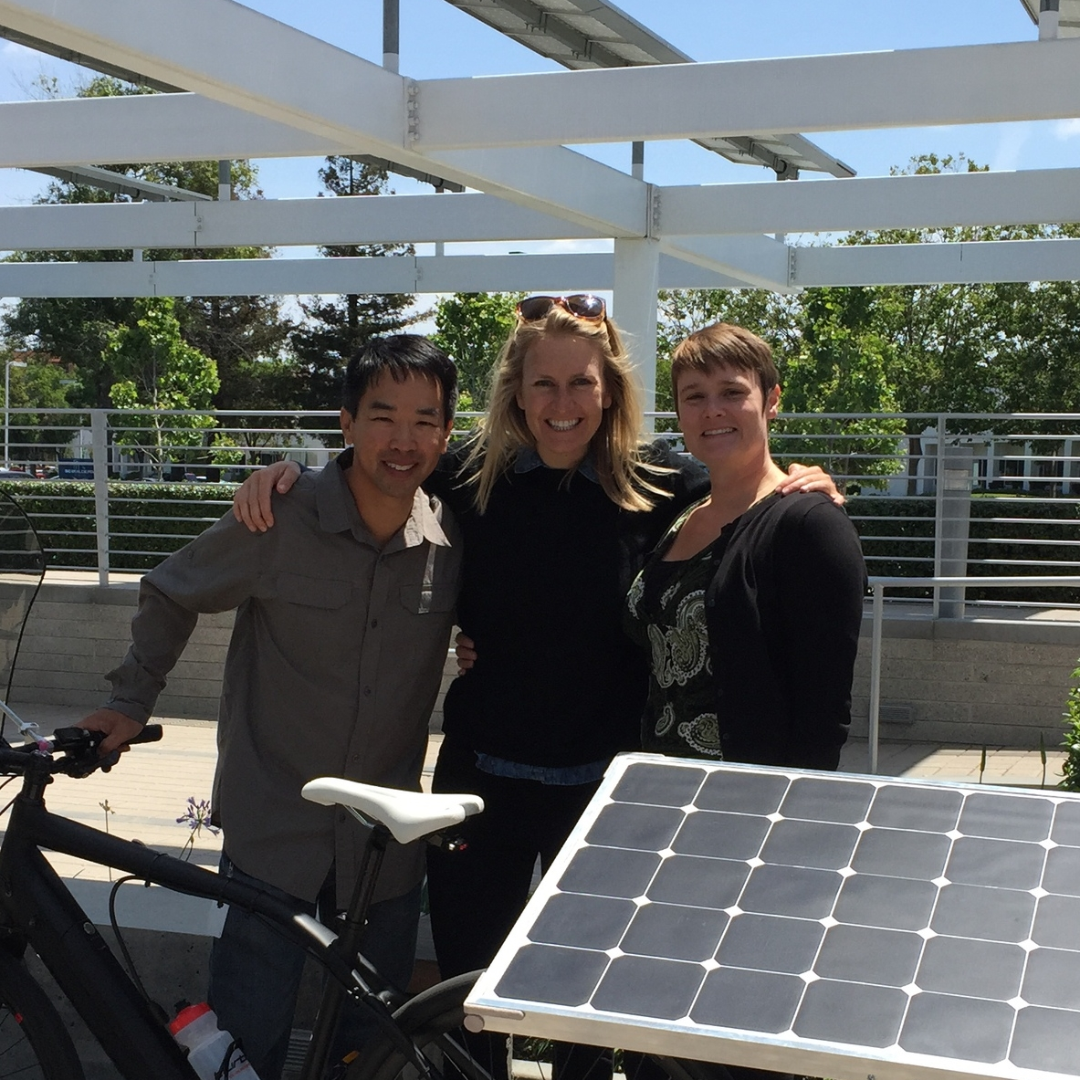 Kingsley and Kat  I could not have done this without you. Thank you for the extra hours of engineering wisdom and helping build the solar panel. You two are brilliant and SunPower is lucky to have you.