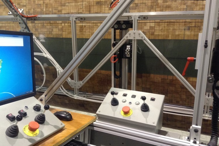 Joystick Controlled Steering and Actuation