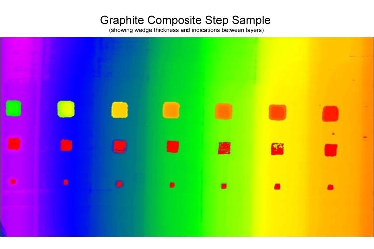 Carbon Graphite Step Wedge