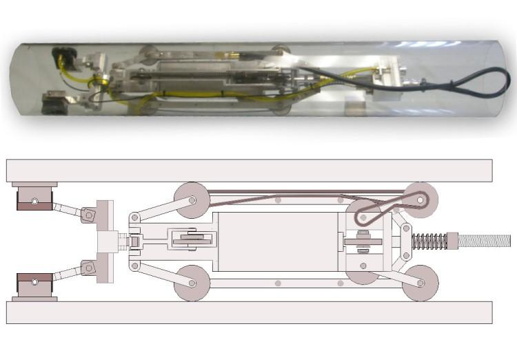 "RoboPipe Crawler - All Wheel Drive 5.25"" Diam"