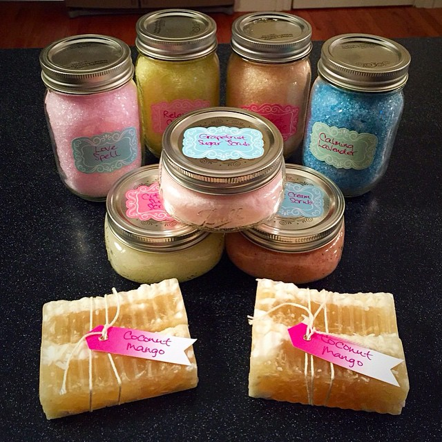 Twisted Sisters Apothecary soaps and bath salts now carried at The Workroom! #madeinICT