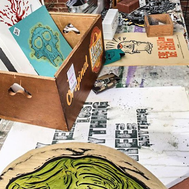 Brickmob is back! Amazing collection of urban artists. #madeinICT #2ndSatICT #bethere Saturday 10-2:00