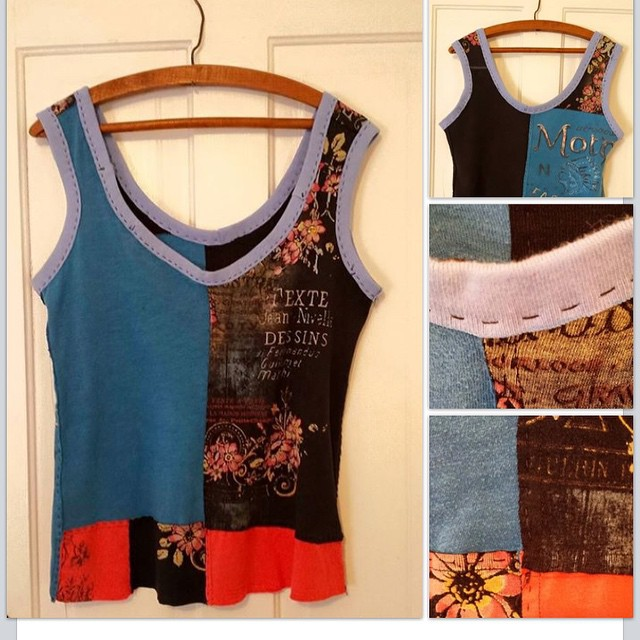 Here's another (I couldn't help it!) Altered Eco Artwear & Swiss Pointe Designs are  killin it! #2ndSatICT #madeinICT