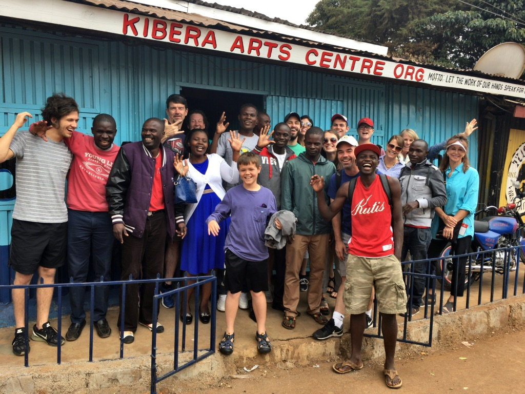An estimated 75% of Kibera's 1.2 million residents are under the age of 18.