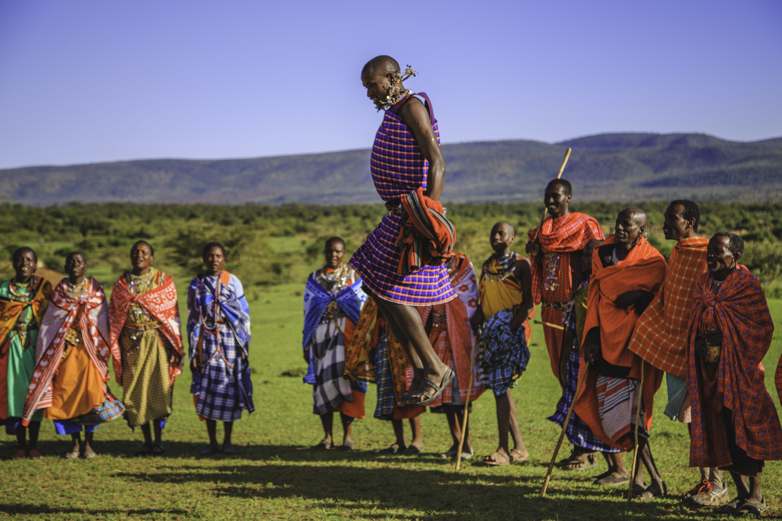 A tribe of Maasai Warriors adopted my wife and I and threw us an impromptu marriage ceremony.