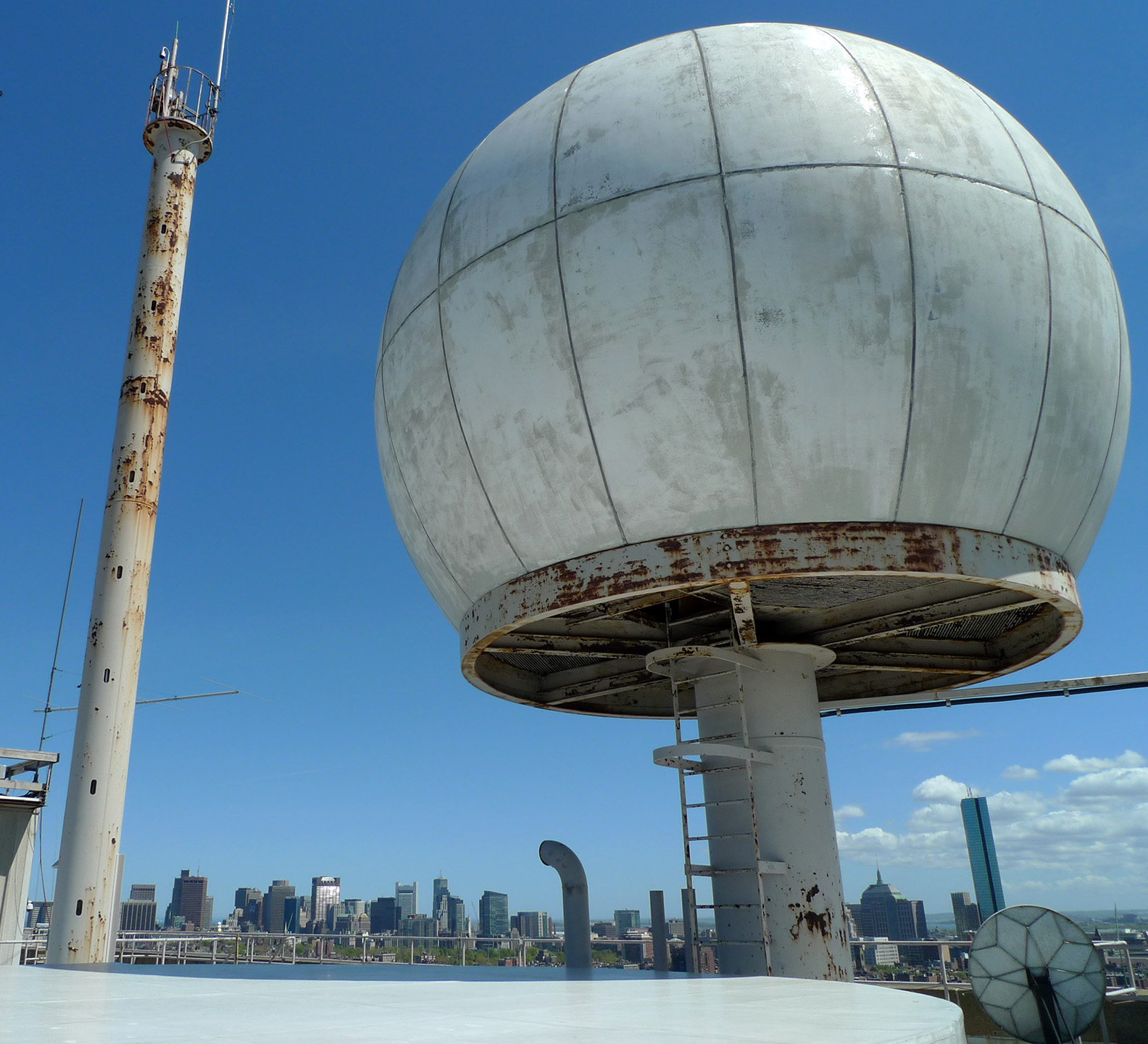 Radome (on roof of MIT Green Building)