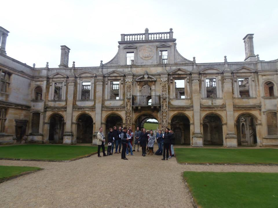 On tour at Kirby Hall