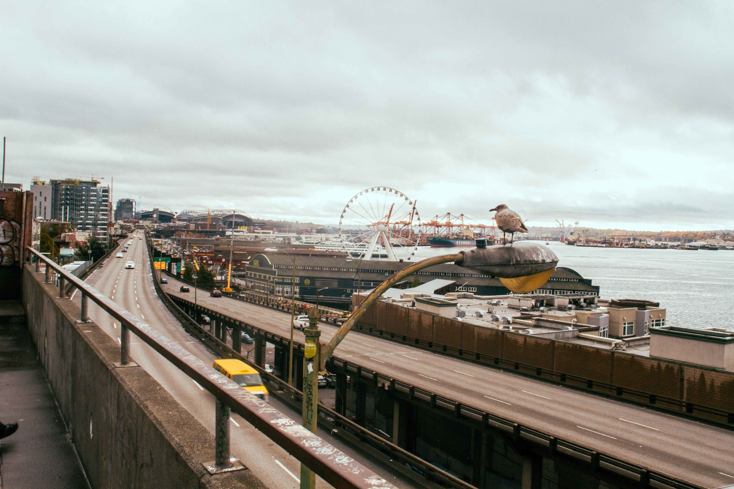 Outside of Pike Market