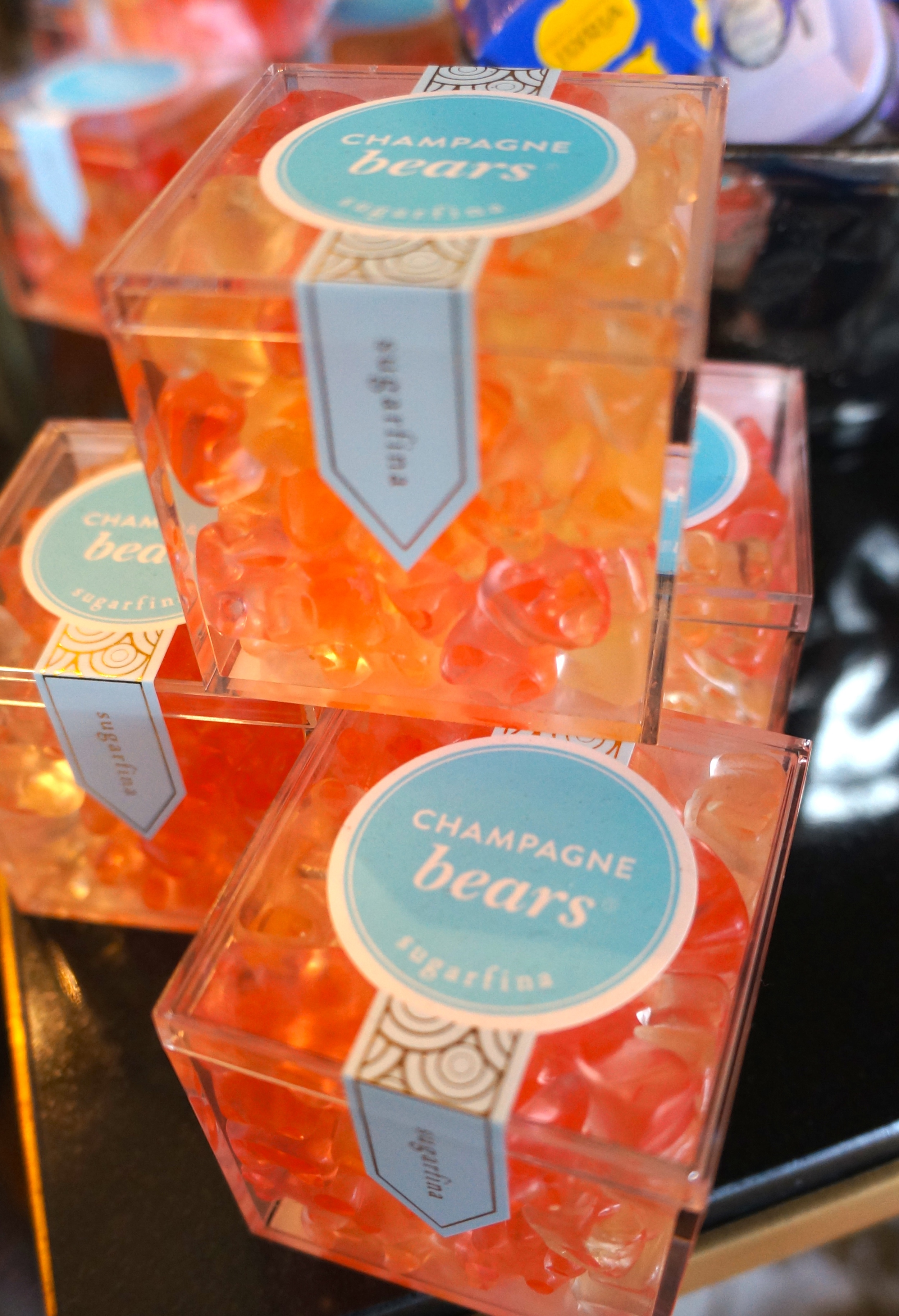 Sugarfina champagne gummy bears, always a huge hit!