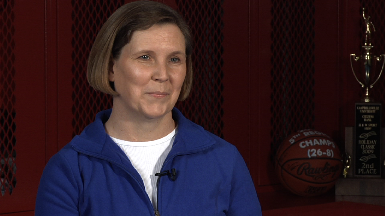 Denise Fudge  - Wife of Mark Fudge, Adair County HS (KY) Boy's Basketball