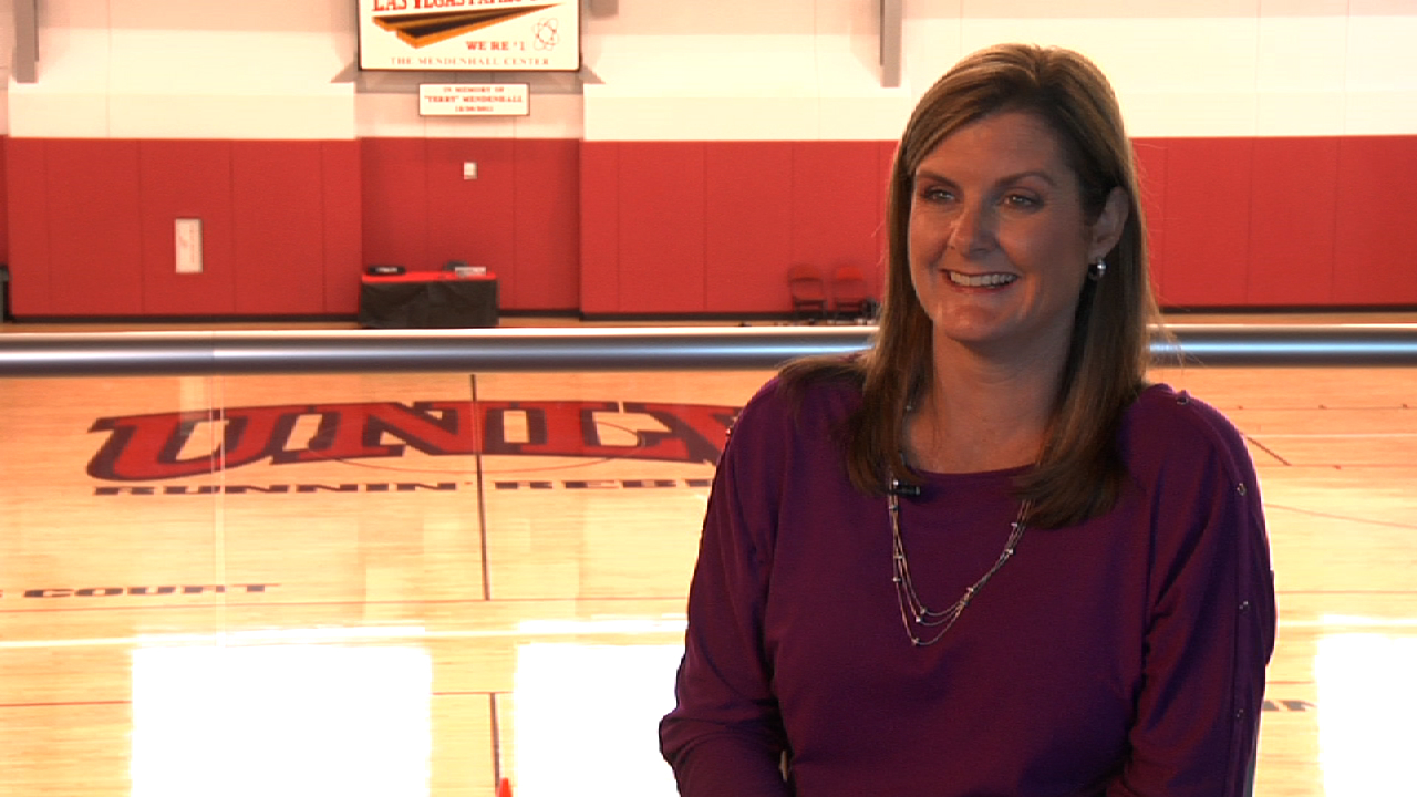 Mindy Rice  - Wife of Dave Rice, UNLV Men's Basketball