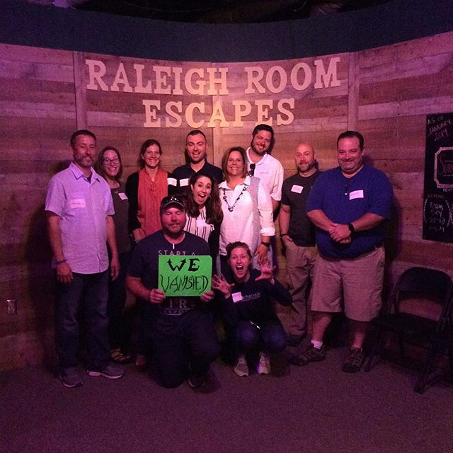 What a thrilling Thursday! Try your hand at survival while you still can!  BOOK NOW! www.raleighroomescapes.com/book-now/ . . . . #raleigh #nc #escape #roomescape #escaperoom #fun #weekend #birthday #friends #family #goodtimes #durham #chapelhill #Knightdale #Apex #Cary #teambuilding #trappedinaroomwithazombie #containthetrampingground #devilstrampingground #quarantine #zombie #lore #legend @ Raleigh Room Escapes LLC