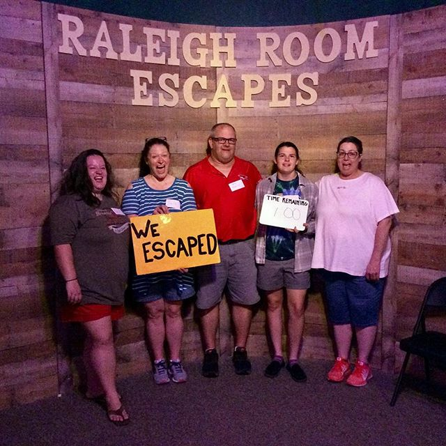 What a fantastic way to end the week! BOOK NOW! www.raleighroomescapes.com/book-now/ . . . . #raleigh #nc #escape #roomescape #escaperoom #fun #weekend #birthday #friends #family #goodtimes #durham #chapelhill #Knightdale #Apex #Cary #teambuilding #trappedinaroomwithazombie #containthetrampingground #devilstrampingground #quarantine #zombie #lore #legend