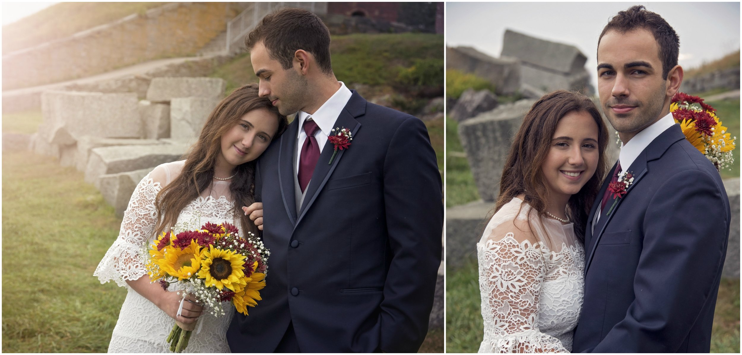 Fort Mcclary, Kittery | Ali and Nic | Wedding
