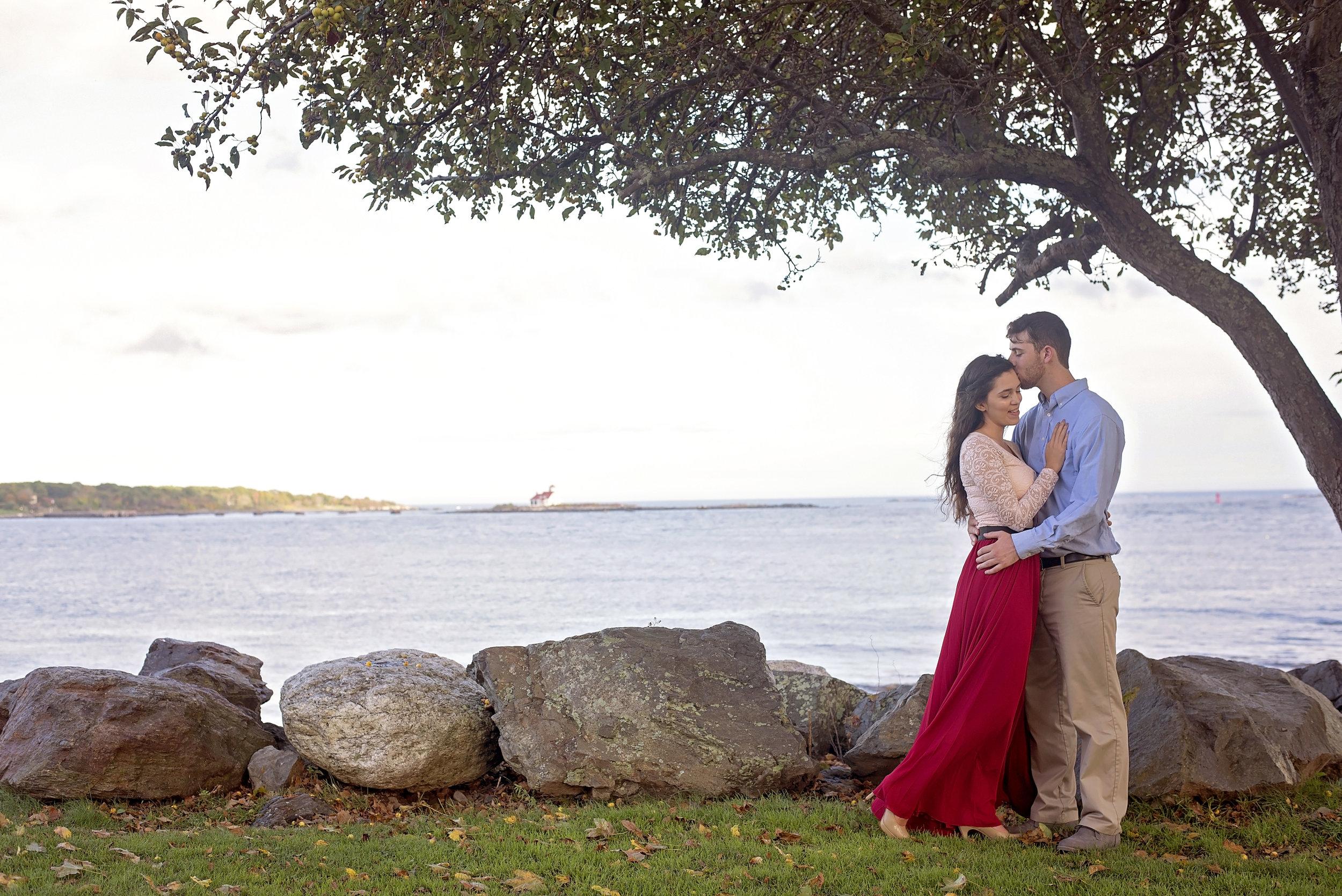 Great Island Common | Amanda and Scott | Engagement
