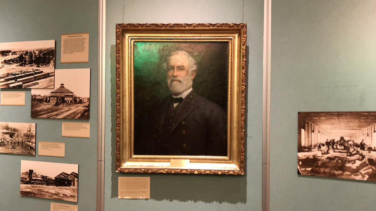 - By: Patricia Sullivan, The Washington PostThe city of Alexandria, Va., has quietly removed a portrait of Confederate Gen. Robert E. Lee that hung on the wall of the City Council chambers for 54 years, relocating it to the Lyceum, a local history museum.